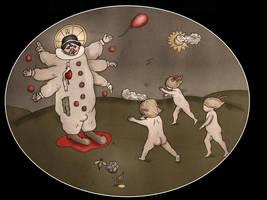 Adoration of the Clown by FerdinandBardamu