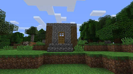 My tiny minecraft home. by bigton