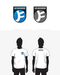 UF Gaming logo and tshirts by EffectiveFive