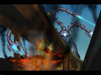 Alien Invasion by Oneil121