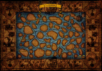 Zaramira Map by NoirceurSauvage