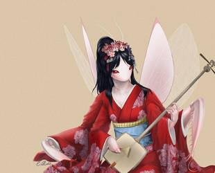 Commission - The Maiko by solfieri