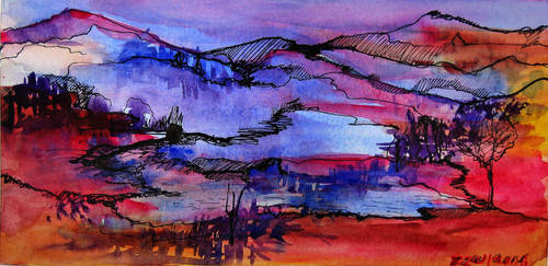 Violet Country by zzen