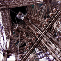 Inside Tour Eiffel by jinhuang