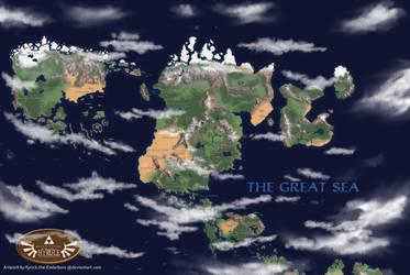 Ultimate Hyrule Overworld Map by Kyrick-the-Enderborn