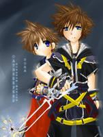 Oathkeeper - Kingdom Hearts by neneno