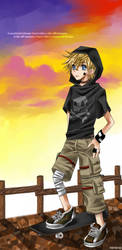 Roxas: Scattered Dream by neneno