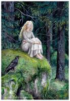 Forest girl by Zaronen