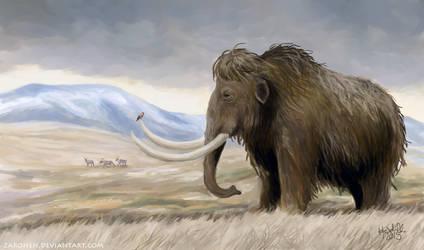 Mammoth life by Zaronen