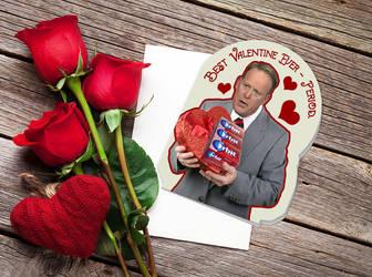 'Period' Sean Spicer Valentine by Gunderstorm