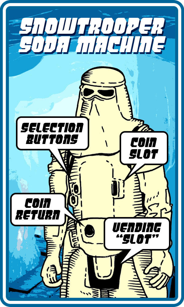 Snowtrooper Soda Machine by Gunderstorm