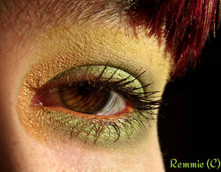 Forest inspired makeup. by LoppanRemmie