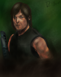 The Walking Dead - Daryl Dixon by LoppanRemmie