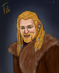 Fili - The Hobbit. by LoppanRemmie