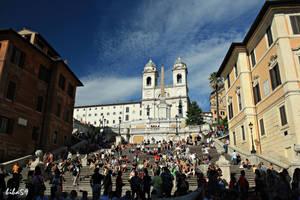 piazza di spagna by biba59