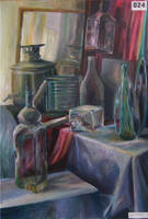 glass still life by laudia