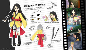 Hokume Komugi by Cheshire-Ai