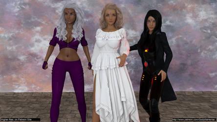 Three Goddesses @low by Godzilla-Hentai