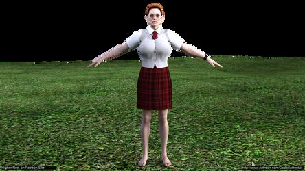 tomb raider - tomb raider - school girl outfit A@l by Godzilla-Hentai