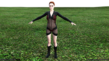 tomb raider - tomb raider - Hyper outfit@low by Godzilla-Hentai