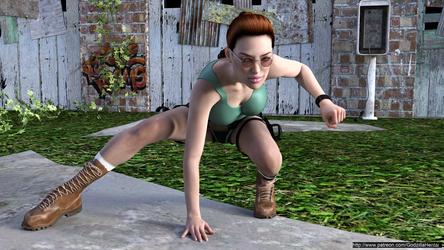 Tomb Raider - Z Warrior Princess 02 G8f@high by Godzilla-Hentai