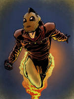 The Rocketeer by PlanetKojo