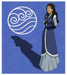 Princess Katara by invisiblejohnny