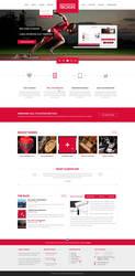 Boxin - Flat Creative PSD Template by heavenzART