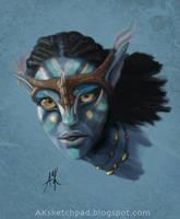 Avatar - Neytiri by AKizzle