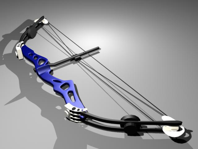 Compound Bow by suburbbum