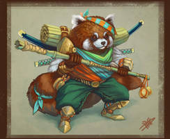 Red Pandar by suburbbum