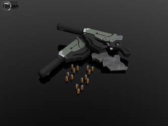 Caliber: Vamin Pistol Remixed by AxMan