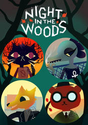 night in the woods by CamiIIe