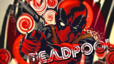 wallpaper deadpool by Oxide37