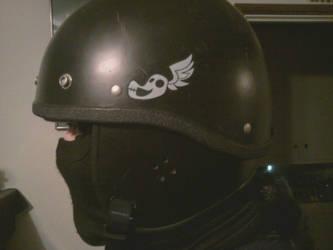 Shadowbolt Airsoft Helmet Tag by GregorytheImpaler