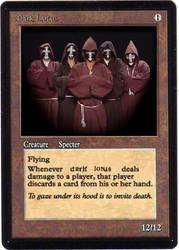 Dark Lotus Magic Card by GregorytheImpaler