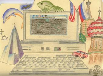 My English Folder by effaced