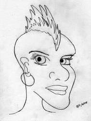 Mohawk by effaced
