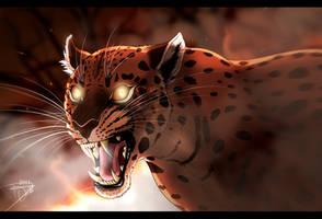 Fire Cat by DJ88