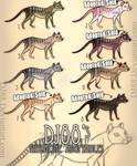 $10.00 Thylacine Adopts Batch 1 -3 LEFT!- by DJ88