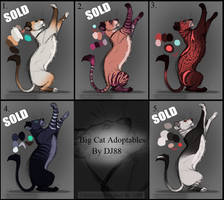 $20 Big Cats Adoptables by DJ88