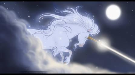 Unicorn in the night by DJ88