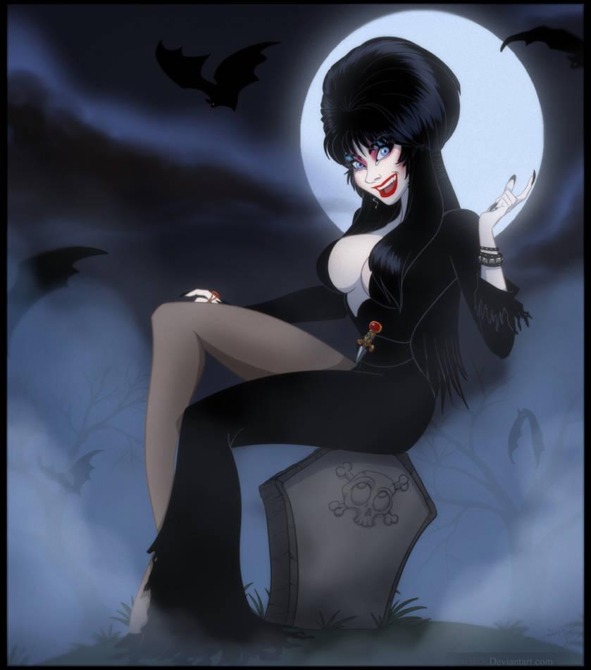 Elvira Mistress Of The Dark by DJ88