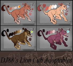 $28 Lion Cub Adopts -Batch 1 - by DJ88