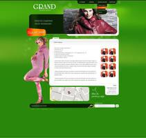 Fashion site subpage by dexx27