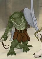 Crocodile Guard by FerosBR
