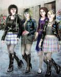 Python Girls by Uranus-seventhsun