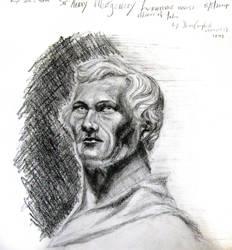 2 Hour Sketch: Nobleman by Uranus-seventhsun