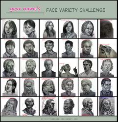 Facevariety Challenge  by Uranus-seventhsun