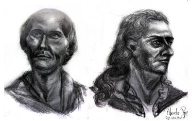 2 Hour Life Sketches wid Fat Pencil by Uranus-seventhsun